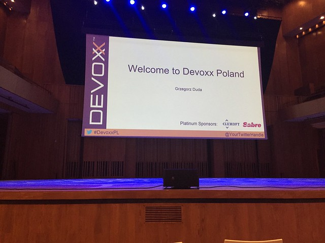 Devoxx Poland 2015 - introductory session