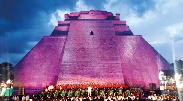 Desde Uxmal anuncian el Festival Internacional de la Cultura Maya