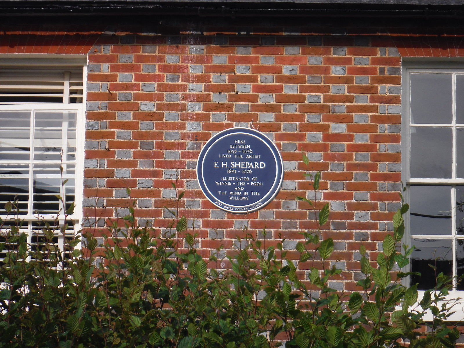 House where E.H. Shepard lived, Lodsworth SWC Walk 217 Midhurst Way: Arundel to Midhurst