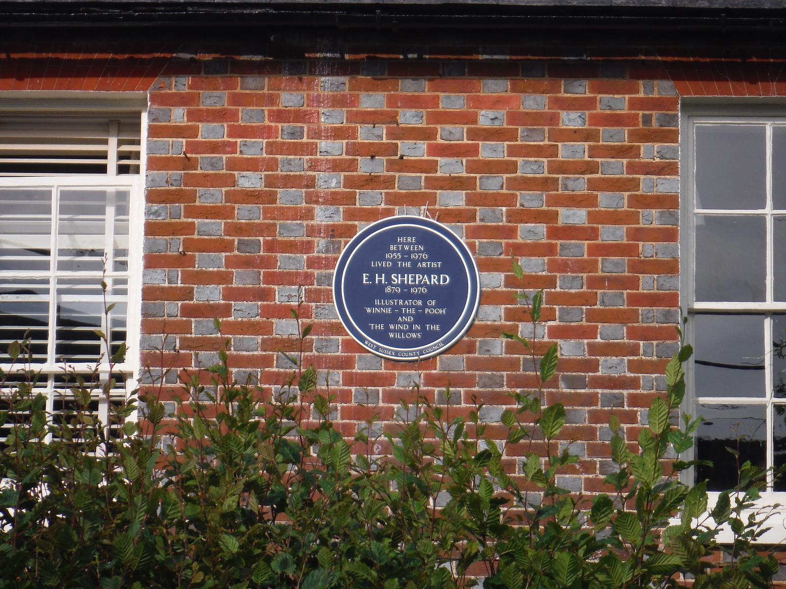 House where E.H. Shepard lived, Lodsworth SWC Walk 217 Midhurst Way: Arundel to Midhurst