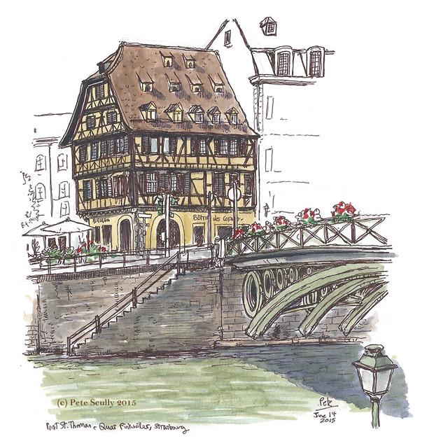 Pont St Thomas, Strasbourg