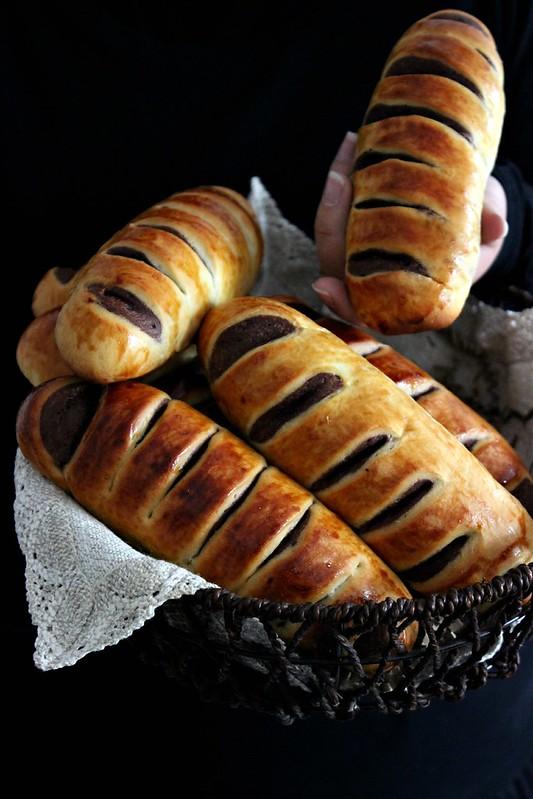 pain feuillete conchas rhubarbe 262