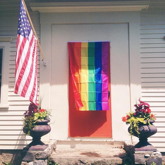 Pride. #howtobepopularinruralmaine