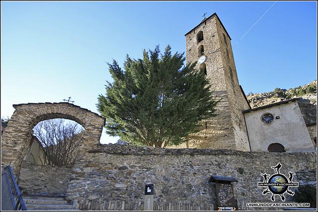 Iglesia de San Serni de Canillo, Canillo. Andorra.