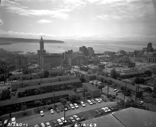 Downtown from the east, 1963