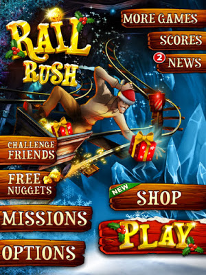 Download Free Game Rail Rush Hack (All Versions) Unlimited Nuggets 100% Working and Tested for IOS and Android