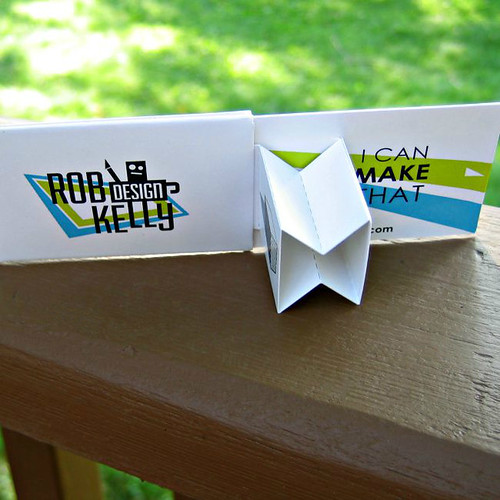 Pop-Up Business Card by Rob Kelly