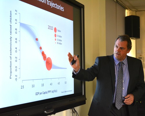 Tim Robinson gives an overview of ILRI antimicrobial use in farm animals