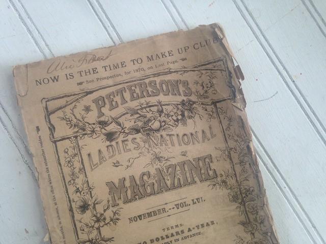 Magazine Monday // Peterson's, November 1869