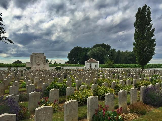 Cementerio portugués en Nord-Pas de Calais (Norte de Francia)