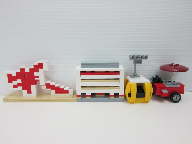 LEGO SG50 Limited Edition Singapore Icons Mini Builds - 3