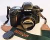 My Nikon F100 w/ Lensbaby Twist 60