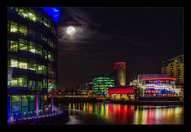 The Quays by Night