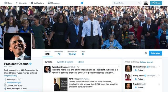 POTUS Twitter Barack Obama
