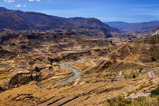 Valley of Colca River, Peru