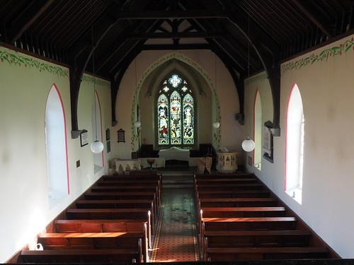 Inside Dunkerrin Church