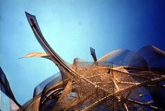 Dancing Building's Roof Sculpture