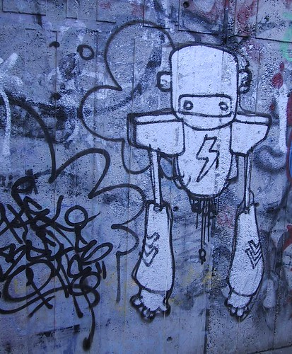 One Robot (graffiti)