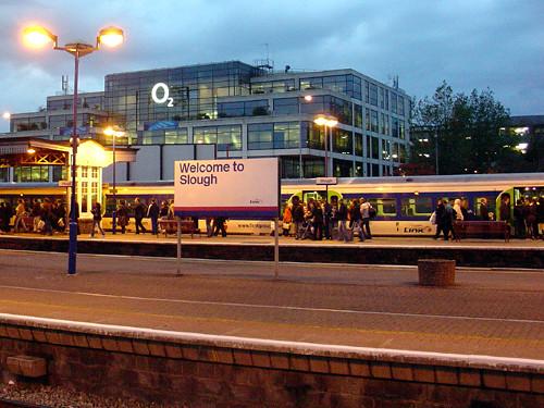 Slough Train Station Car Park Overnight