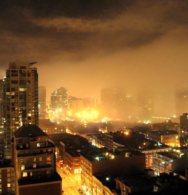 fog in yaletown