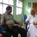 Small photo of Dr. Ariyaratne and Mr. Karikalan