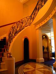 Stairway leading upstairs