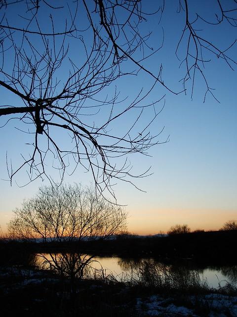 sunset, Fujifilm FinePix F455