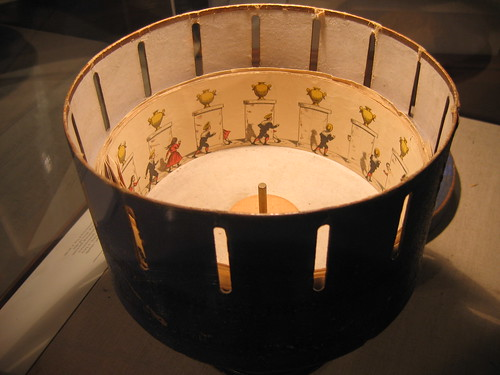 Zoetrope at rest