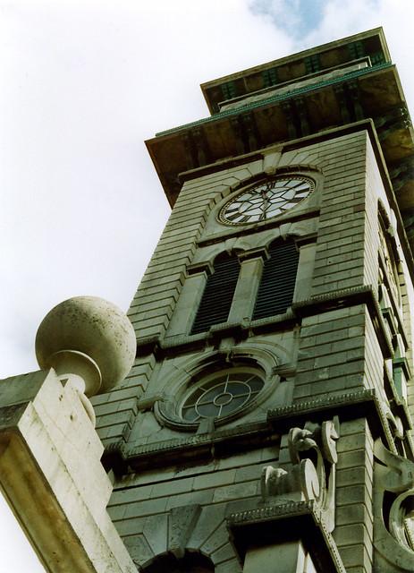 clocktower, Caledonian Park