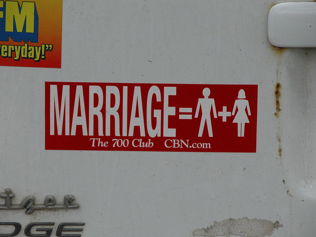 marriage ='s what!?