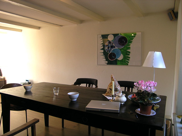 Tafel in woonkamer  Flickr - Photo Sharing!