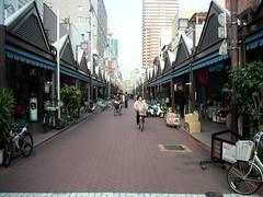 Nishinaka street in Tsukishima
