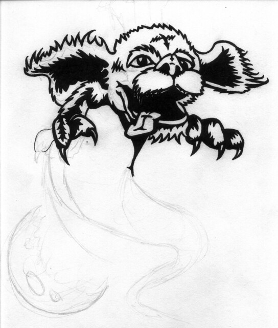 falcor the luck dragon coloring pages | Luck Dragon Tattoo | Flickr - Photo Sharing!