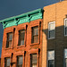 Green cornice, Park Slope, Brooklyn