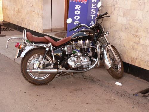 Royal Enfield Motorbike, Cochin