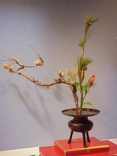 Japanese flower arrangement 1