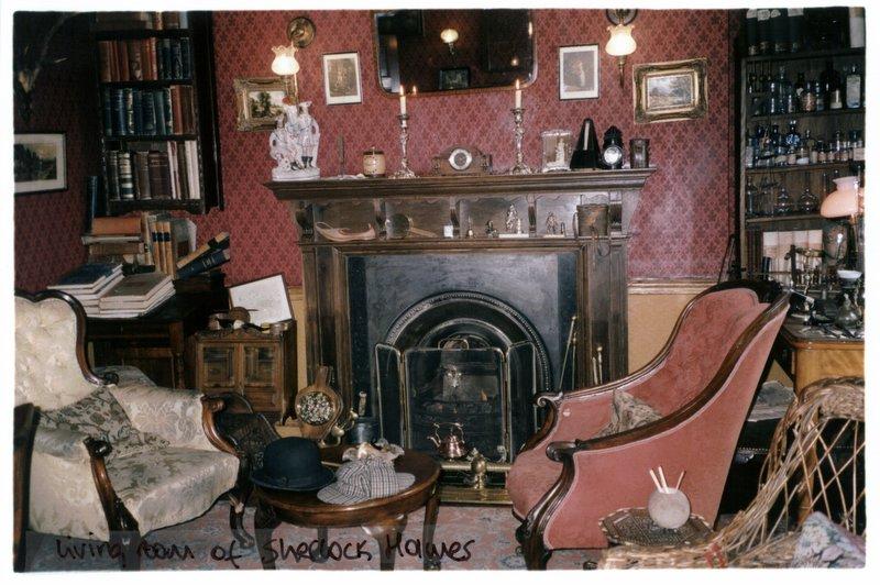 Sherlock Living Room Christmas