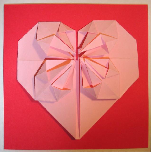 origami heart flickr photo sharing
