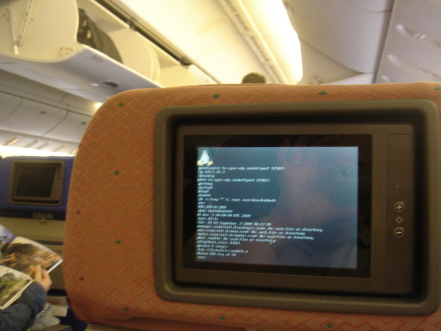 linux on a Boeing 777