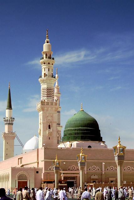 Prophet's Mosque - Medina, Saudi Arabia | Flickr - Photo