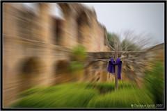 Blurred Cross