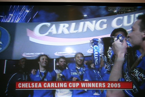 Chelsea Carling Cup Winners 2005