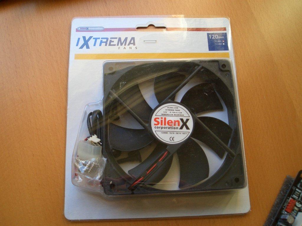 SilenX 12cm 11dB