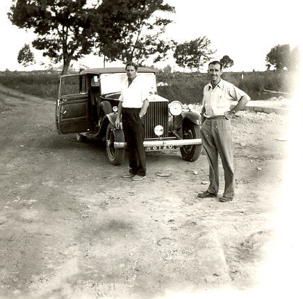 Rolls Royce in Africa 1953