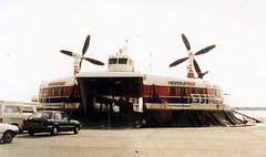 Hovercraft to Calais, Dover 1987