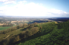 South Downs from Kithurst Hill (above Candy and Dairn's)