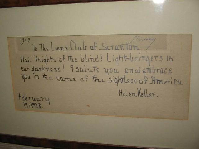 helen keller writings