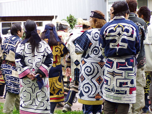 Some of the many Ainu patterns