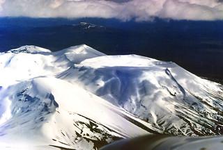 Abeam Mt. Tongariro, New Zealand
