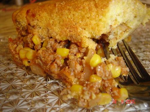 Skillet taco, Tamale Pie